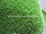 30mm height 4 colors PE roof decration straight+curly synthetic grass surface