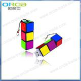 Cuboid Usb Flash , 256mb, 512mb, 1gb--16GB,customized logo