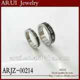 2012 fashion ring titanium steel jewelry