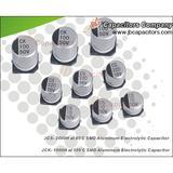 SMD aluminum electrolytic capacitors