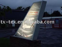 PVC coated outdoor banner