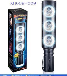 XH658-009 multifunction flashlight torch