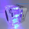 Music Cube Speaker Mini Speaker Nizhi TT-028 With FM Radio LCD Display and Flashing Light