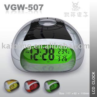 Talking LCD clock