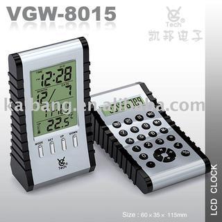 Calculator LCD clock