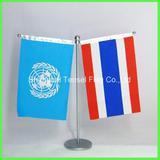 multicolor desk flag
