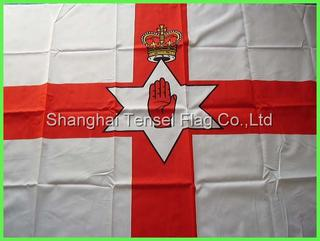 red hand flag polyester lower price ISO9001