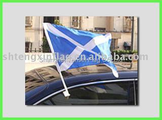 sports car flag