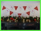 Christmas bunting polyester lower price ISO9001