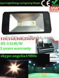 85-110LM/W IP65 UL Meanwell driver Bridgelux LED chip 45mil 160W LED light for Light Tower