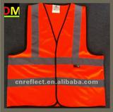reflective vest with En471 Standard orange Class1 Class2