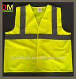 green safety vest with En471 Standard