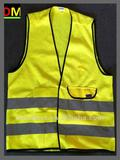 yellow safety vest with En471 Standard