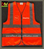 orange safety vest with En471 Standard