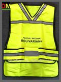 yellow safety vest with En471 Standard safety vest with pockets