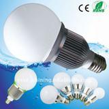 6W High Power LED Bulb Light Dimmable