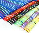 A4 colorful grid bag,pvc zipper bag,zipper file bag