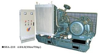 piston air compressor (SSA-210-4.0/40)