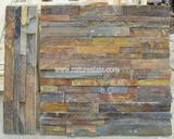 rusty slate wall