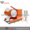 SSJ 55kw Quarry sawing machine for Granite Marble Quarries