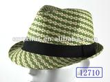 12710 Man Fashion Colorful Paper Straw Hat