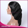 Body Wave Virgin Brazilian Human Hair Full Lace Wig