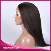 Italian Yaki 100% Indian Remy Human Hair Full lace Wig