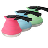 Collapsible Silicone Outdoor Camping Kettle