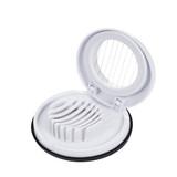 Egg Slicer - Best Compact Kitchen Gadget White - Dishwasher Safe