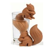 Funny Silicone Squirrel Tea Infuser