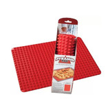Eco-friendly silicone made pyramid silicone baking mat