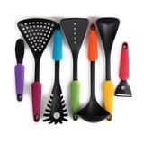 Fashion7pcs Nylon kitchen Utensil for USA Market