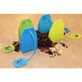 Butler in the Home Tea Butler Silicone Tea Bag Infuser 4 Pack of Tea Infusers Strainer Loose Herbal Tea Leaf Filter