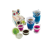 Steep Collapsible Tea Infuser and Coffee Filter, Assorted Colors