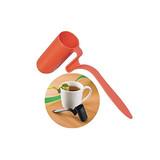 Spoon Shape Plastic Tea Infuser Strainer Herbal Spices Leaf Teaspoon Filter