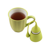 TD-095-The Friendly Swede Silicone Tea Infuser, Set of 4, Orange, Pink, Red and Green