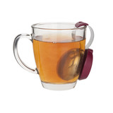 TD-096-Stainless Steel Clip Tea Infuser  Steeper (Green)