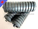china belt conveyor rubber idler roller