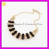 Gold Plated Bead Bubble Choker Necklace XL-1032