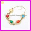 Ethnic Semi Precious Stone Necklace Jewelry XL-1014