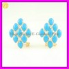 2013 Artificial Enamel Clip-on Earrings Jewellery EH-1288