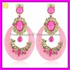 Costume Big Acrylic Drop Ear Ring for Lady EH-1102
