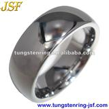 ON SALE mens domed tungsten wedding ring with high polish