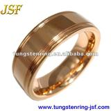 2012 hot rose gold tungsten carbide ring
