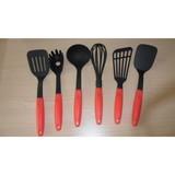 plastic kitchen utensil set