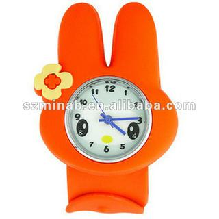lovely animal shaped silicone watches for kid