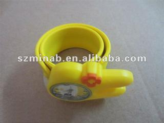 cute silicone slap watches for kid