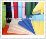 Polypropylene spunbond nonwoven fabrics in hospital and film