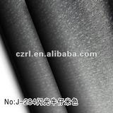cotton polyester spandex fabric flash blend elastic yarn-dyed denim fabric jacquard