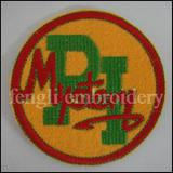 custom embroidered letter patches